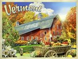 Vermont Foliage Farm Art Print