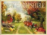 New Hampshire Orchard Art Print