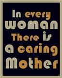 Caring Mother Art Print