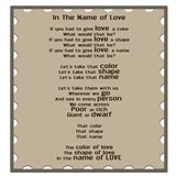 In The Name Of Love Art Print