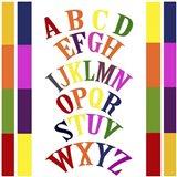 Rainbow Alphabet 2 Art Print