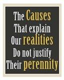 Realities Art Print