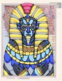 American Pharaoh Art Print