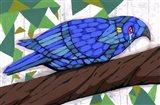 Bluest Bird Art Print