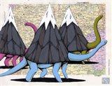 Born To Move Mountains Art Print