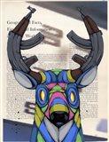 Head Fulla Violence Art Print