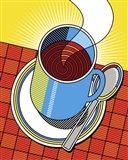 Diner Coffee Art Print