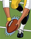 Franco Immaculate Reception Art Print