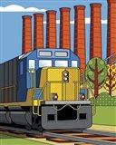 Homestead Steel Mill Stacks Art Print