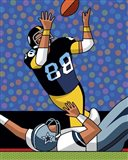 Lynn Swann Super Bowl Catch Art Print