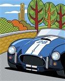 Pittsburgh Vintage Grand Prix Art Print