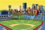 PNC Park Pittsburgh Art Print