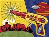 Vintage Toy Laser Gun Art Print