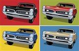 1967 GTO Classic Car Art Print