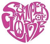 Summer Of Love Heart Art Print