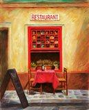 Restaurant Art Print