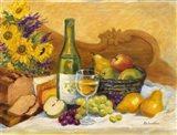 Autumn Afternoon Chardonnay Art Print