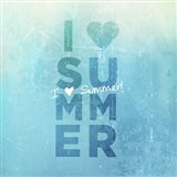 I Heart Summer Art Print