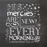 His Mercies Are New Art Print