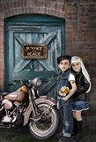 Born 2 Ride Art Print