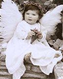 Baby Angel Art Print