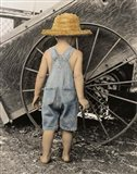 Discovering The Wheel Art Print