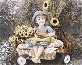 Sunflower Smile Art Print