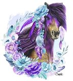 Purple Warrior Art Print