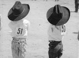 Littlest Cowboys: 50 & 51 Art Print