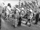 Littlest Cowboys: The Horton Brothers Art Print