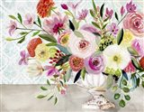 Dance of Flowers Art Print
