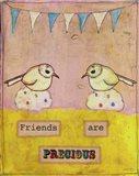 Friends Are Precious Art Print
