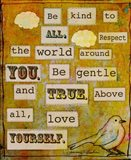 Be Kind To All Art Print