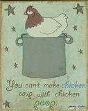 Chicken Soup Art Print