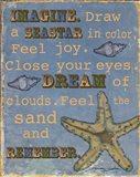 Seastar Art Print