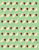Dog Pattern 2 Art Print