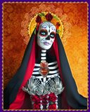 DOD-Santa Muerte Art Print
