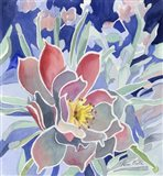 Graphic Flower Art Print