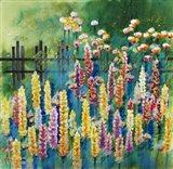 Garden Of Many Colors Art Print