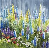 Mixed Flower Garden Art Print