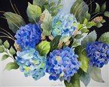 Hydrangeas in Blue Art Print
