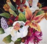Mixed Flowers Surprise Art Print