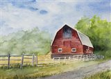 Steamboat Barn Art Print