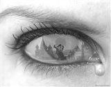 Tearful Encounter Art Print