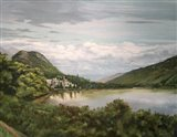 Kylemore Abbey Art Print