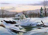 Winter Landscape 2 Art Print