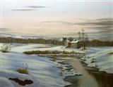 Winter Landscape 3 Art Print