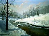 Winter Landscape 4 Art Print