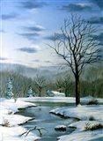 Winter Landscape 6 Art Print