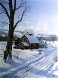 Winter Landscape 7 Art Print